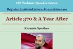 CIF Webinar Sushil